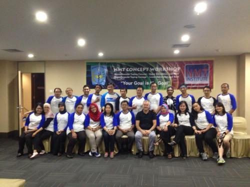 NMT angkatan pertama diadakan di Titan Center Tangerang, 2-5 Nov 2016