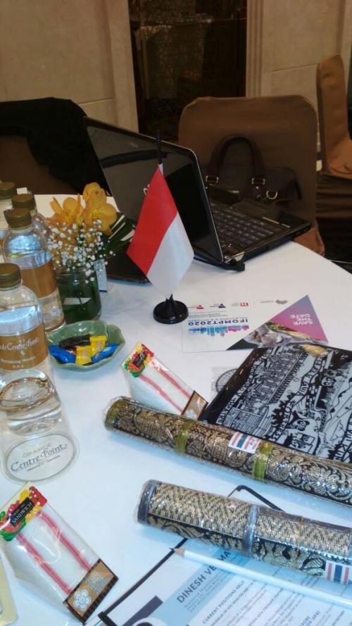 Bendera Indonesia dalam kancah fisioterapi dunia